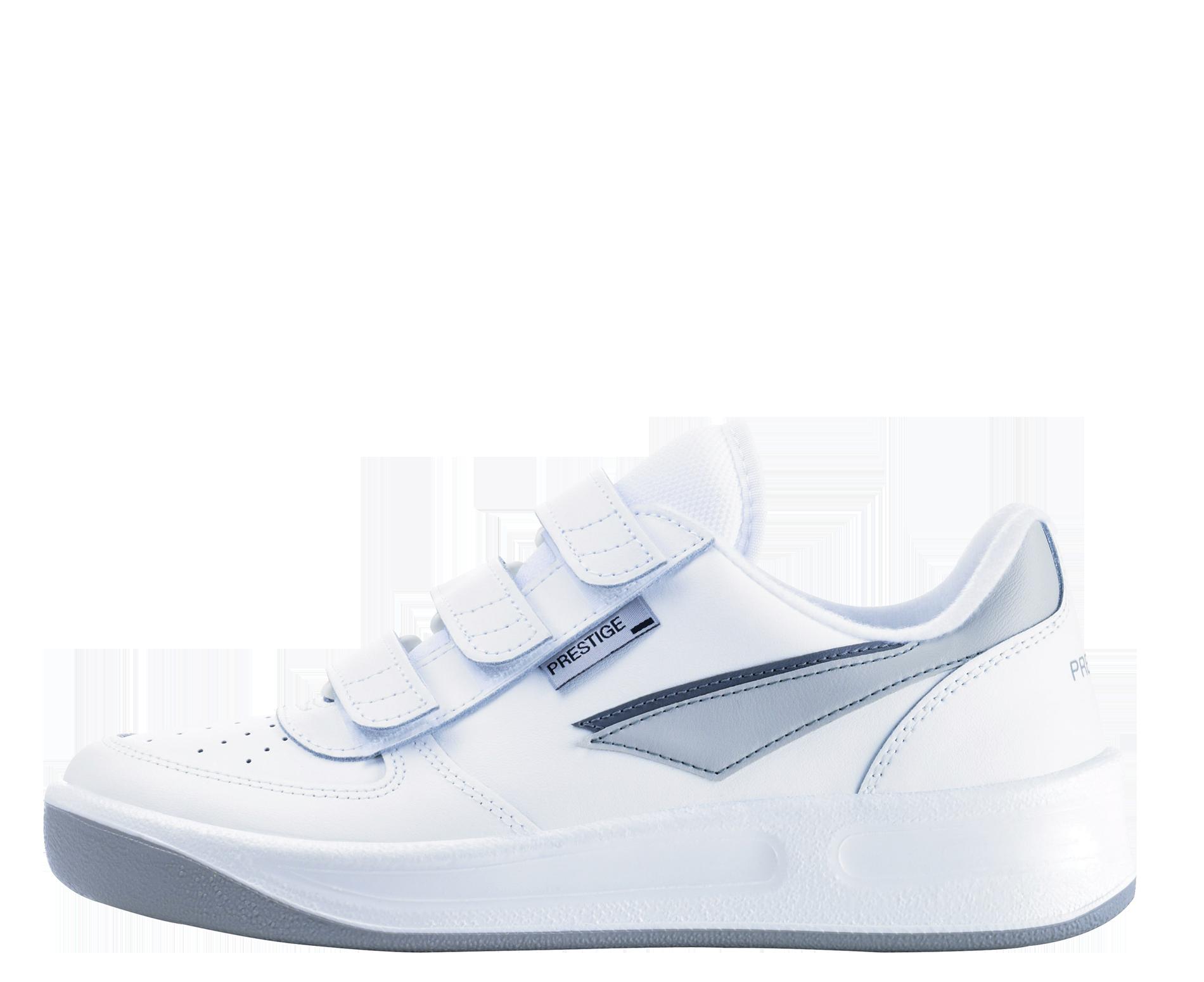 b8114f67b2 biela voľnočasová a pracovná obuv moderného a športového dizajnu PREST