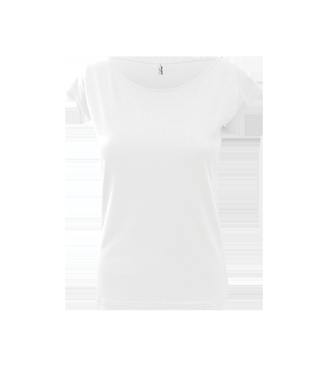 5cb2f8074ac2 ALEX FOX farebné dámske bavlnené tričko ELEGANCE s krátkym rukávom - 1