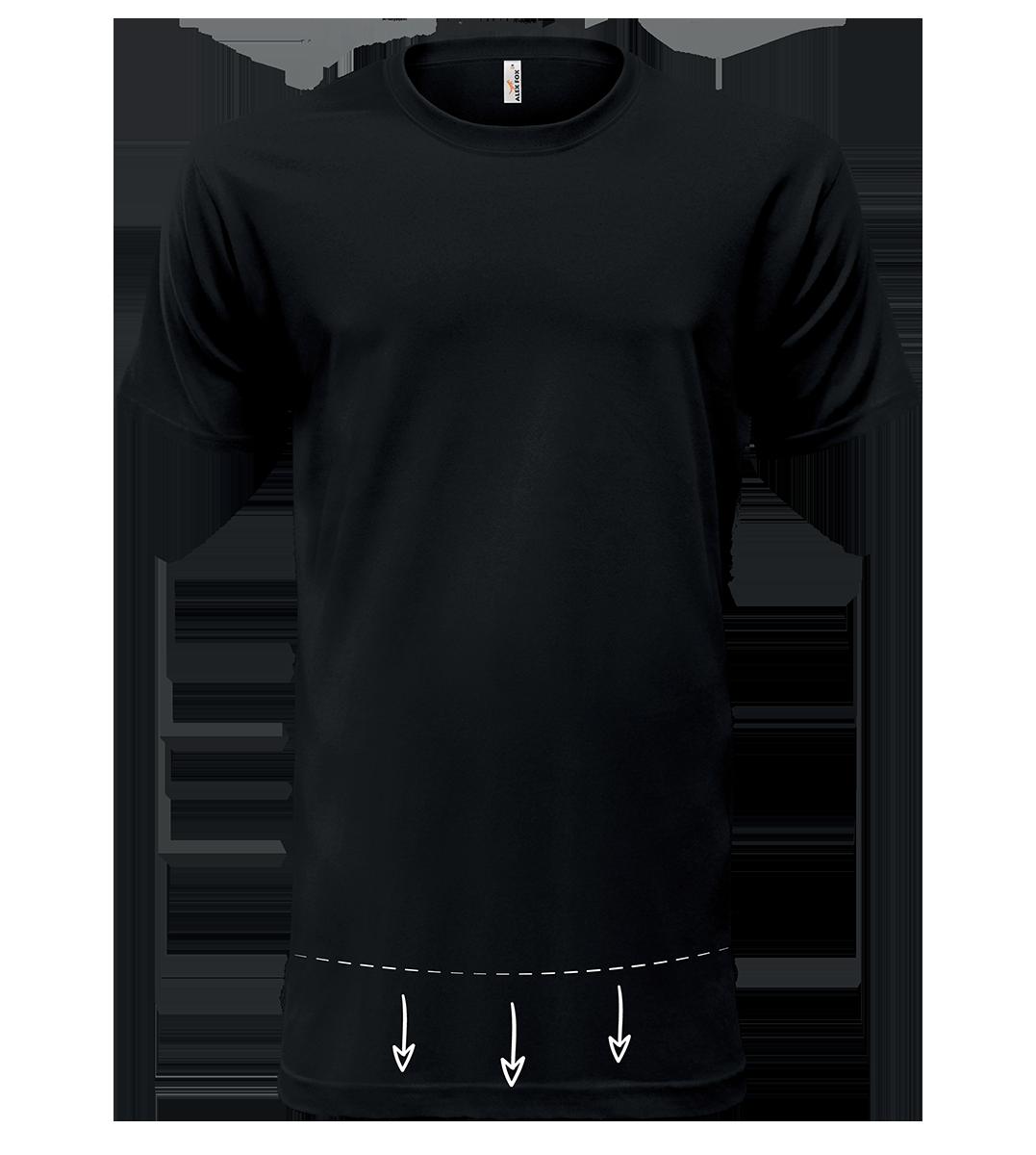 58f5388ac ALEX FOX pánske predĺžené bavlnené tričká NEW JERSEY 109 s krátkym rukávom
