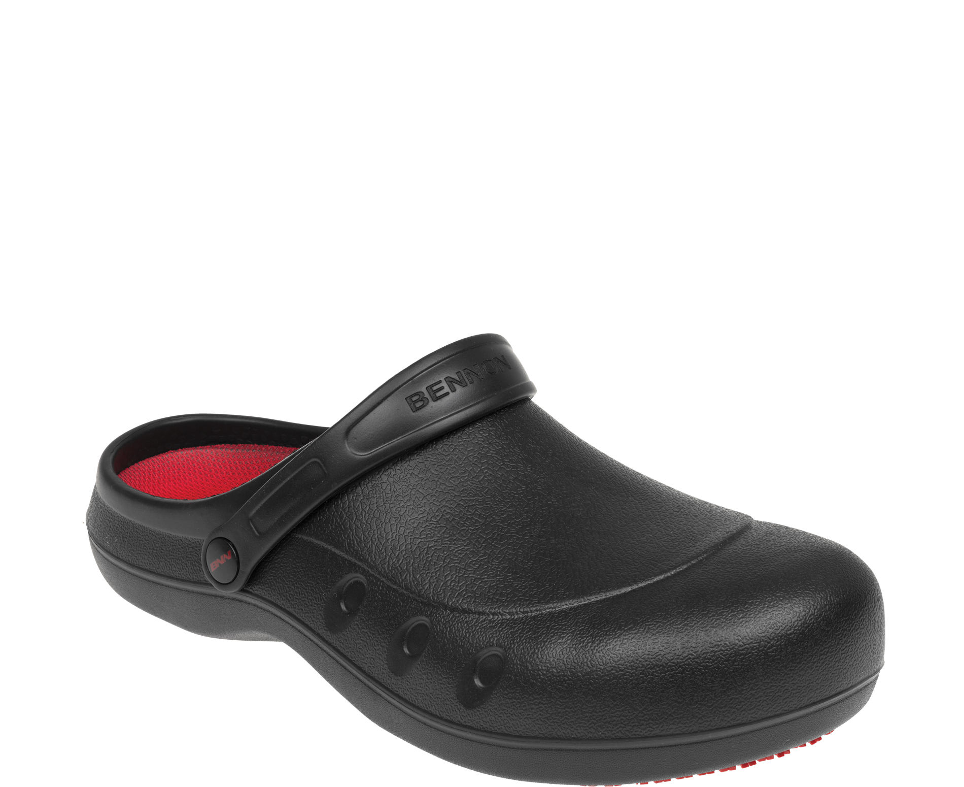 BENNON - BNN BLACK OB WHITE SLIPPER