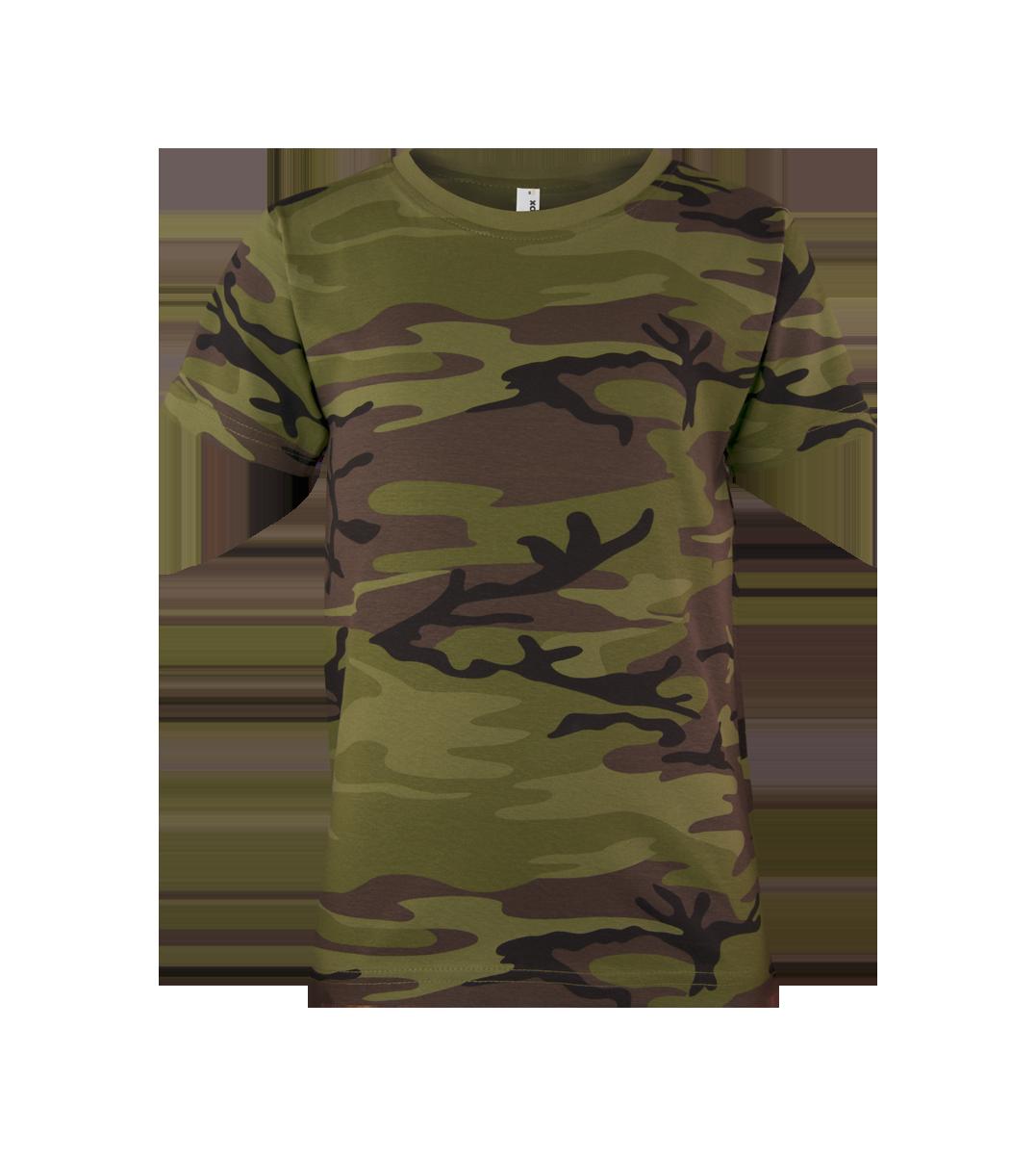 c643b985ba2c ALEX FOX detské maskáčové tričko MILITARY 117 s krátkym rukávom empty