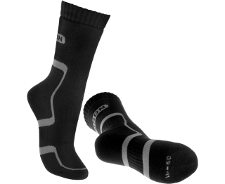 BENNON - BNN TREK SOCK BLACK-GREY