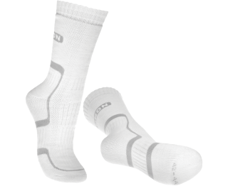 BENNON - BNN TREK SOCK WHITE-GREY