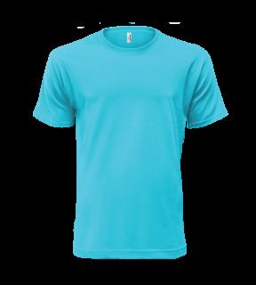 37014b6dd ALEX FOX farebné bavlnené tričká CLASSIC 101 s krátkym rukávom empty